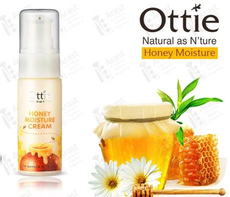 Медовый крем для сухой и обезвоженной кожи Ottie Honey Moisture Cream