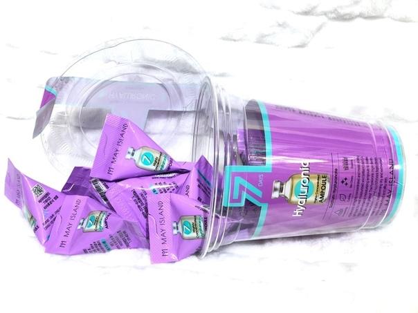 Увлажняющая ампула с гиалуроновой кислотой May Island 7 Days Highly Concentrated Hyaluronic Ampoule