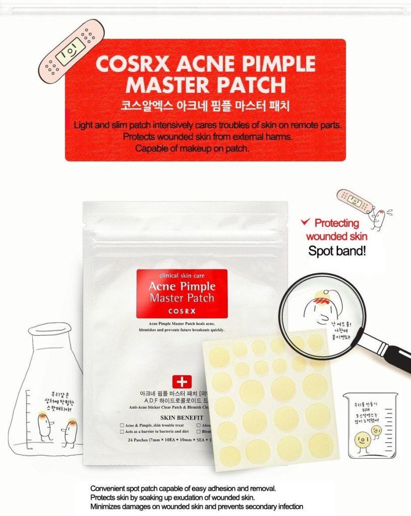 Cosrx Acne Pimple Master Patch Пластыри от прыщей 24шт
