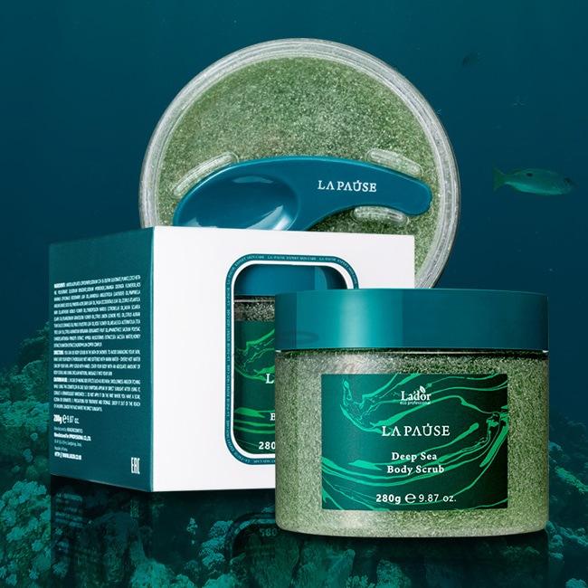 Скраб для тела с морскими минералами Lador La-Pause Deep Sea Body Scrub 280 гр
