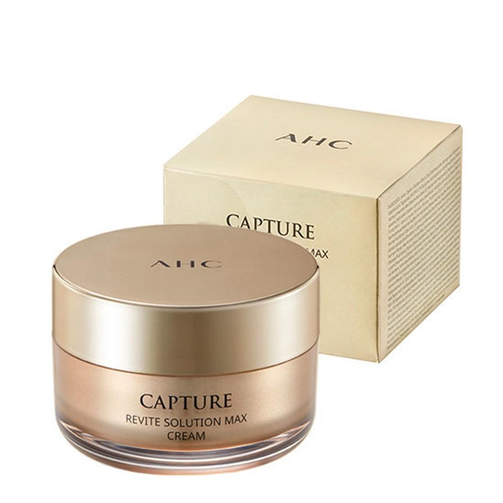 AHC Capture Revite Solution Маx Cream 50ml Антивозрастной крем для лица