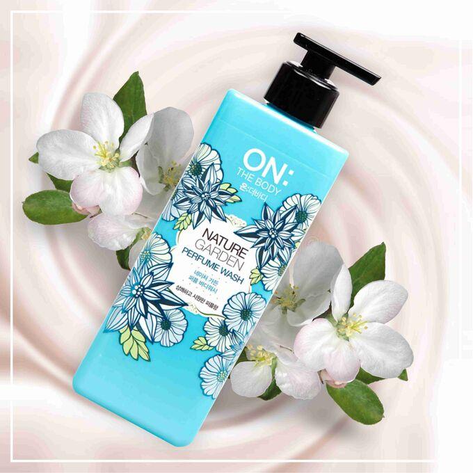 Гель парфюмированный для душа nature garden Otb 500 мл
