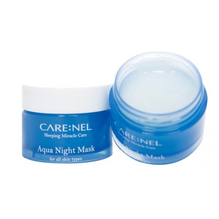 Care:Nel Aqua Water Sleeping Mask Ночная увлажняющая маска для лица