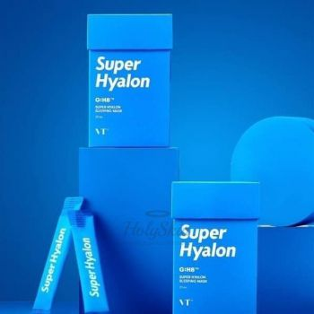 VT COSMETICS SUPER HYALON SLEEPING MASK 4ML Ночная маска для глубокого увлажнения 4мл