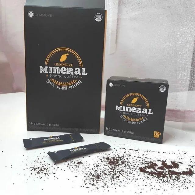 КОФЕ ДЛЯ СНИЖЕНИЯ ВЕСА Mineral Mango Coffee Gemmove. Манго кофе Джемма Корея.